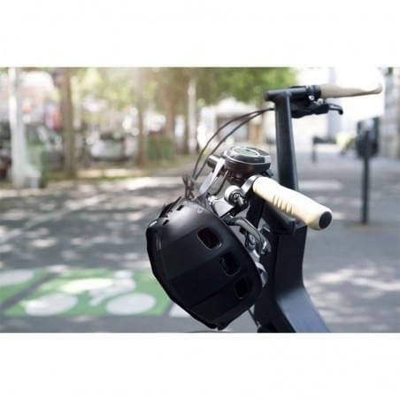 Casque vélo pliable - Plixi FIT Noir