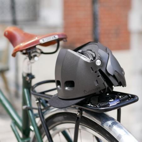 Casque vélo pliable - Plixi FIT Gris