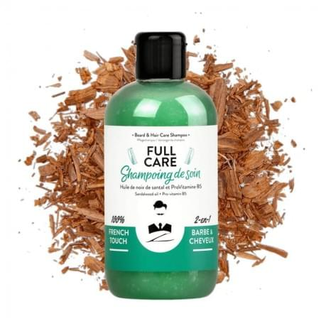 SHAMPOING DE SOIN - BARBE & CHEVEUX - 250mL